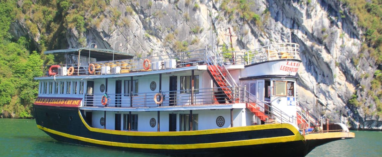 Lan Ha Legend Cruise 2 days 1 night