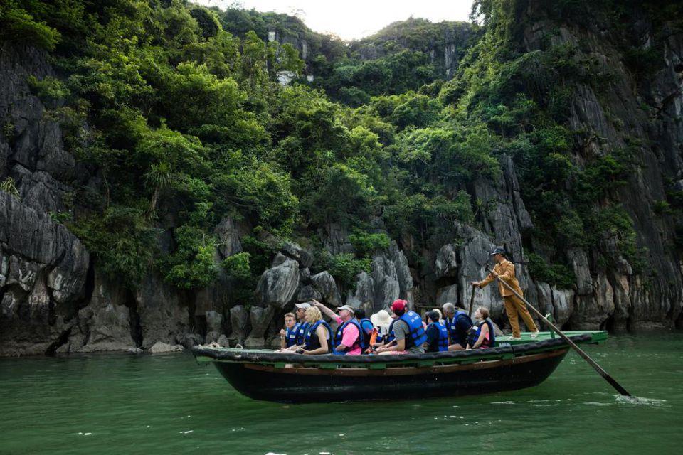 bamboo-rowing