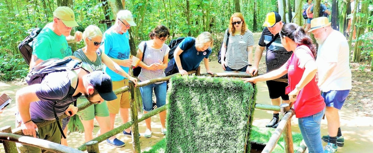 Cu Chi Tunnels Half Day by Speedboat