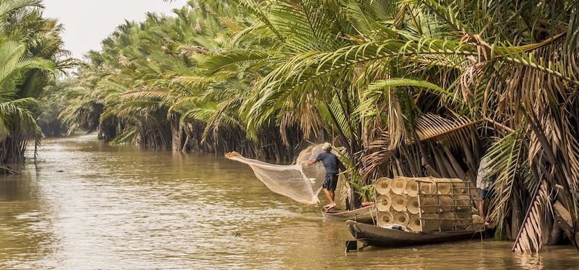 Exploring the rustic yet colorful life of the Mekong Delta people