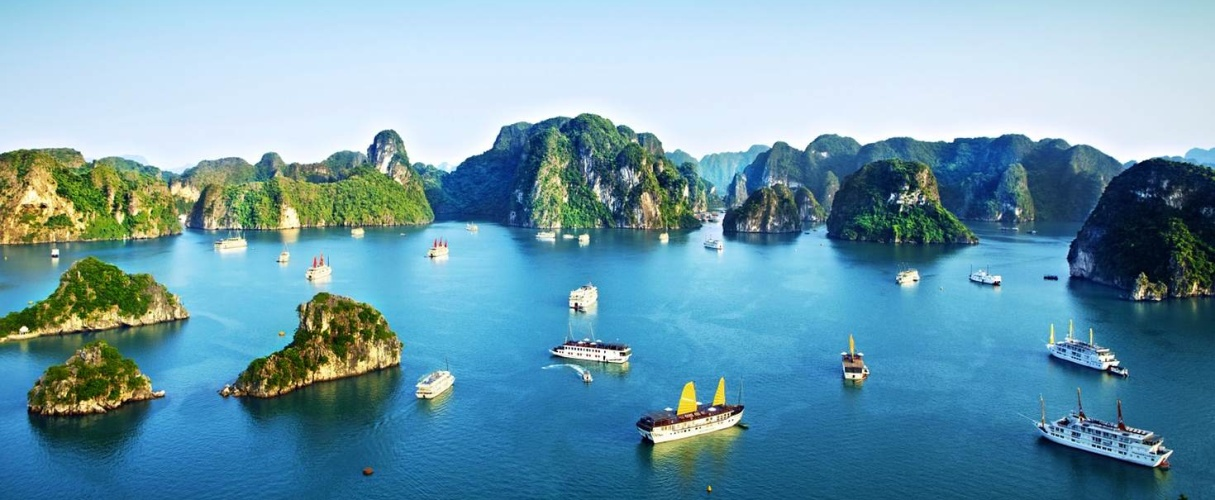 Halong group day trip (Sung Sot - Titop)