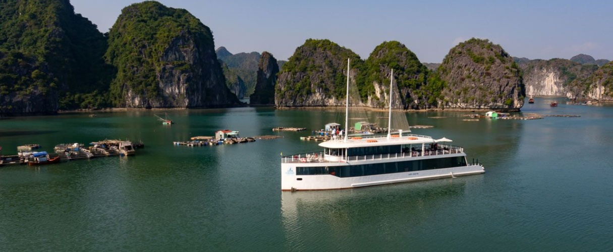 Lan Ha Bay - Halong bay the most luxurious day tour
