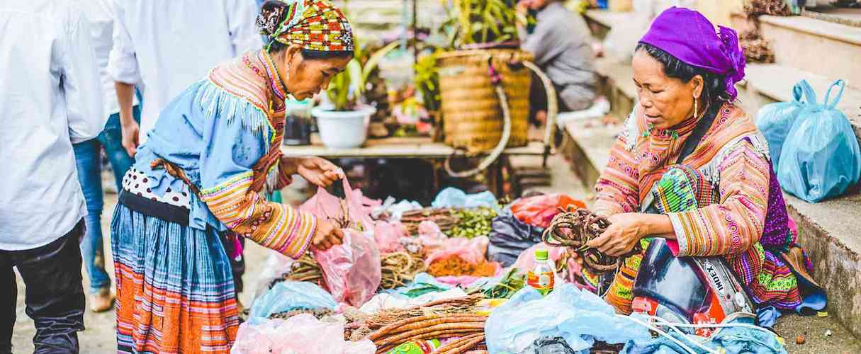 Sapa Easy Trek with Bac Ha Market 2D3N by train