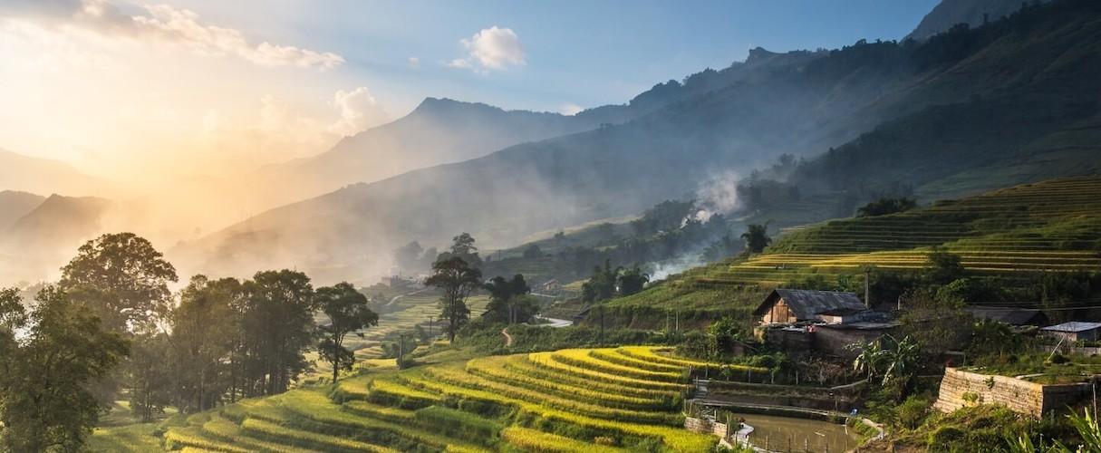 Suoi Hoa - Matra - Ban Khoang - Ta Giang Phinh 2D3N by train