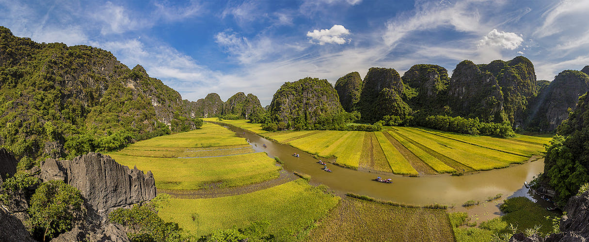 Pu Luong - Ninh Binh 4 days Hard Trek