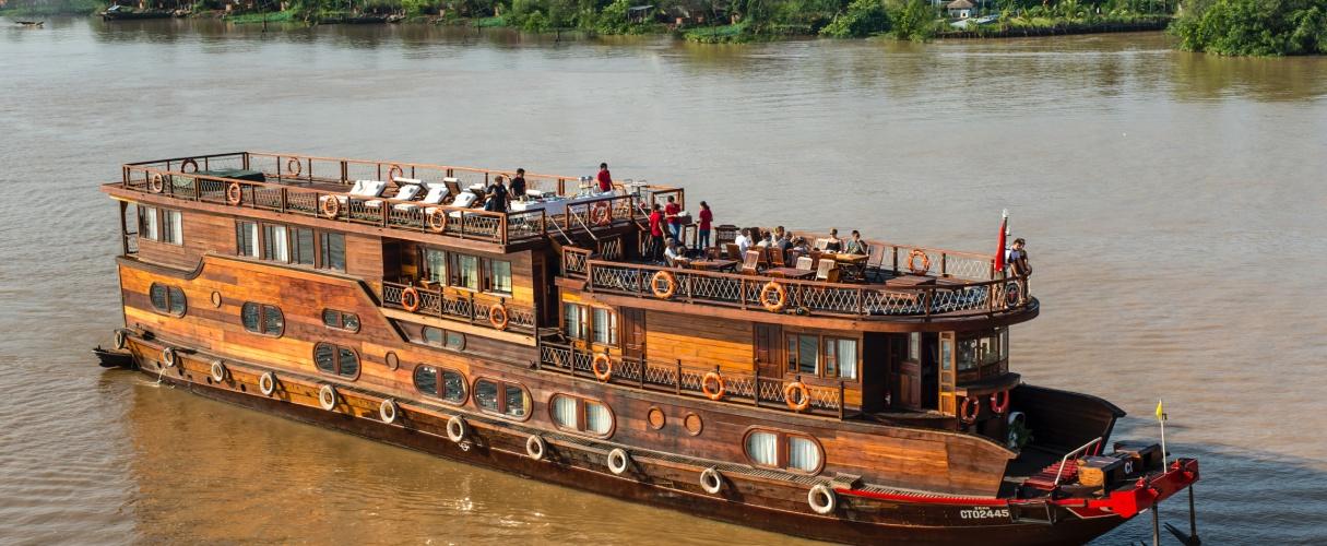 4-day Mekong Eyes Cruise Cambodia - Vietnam