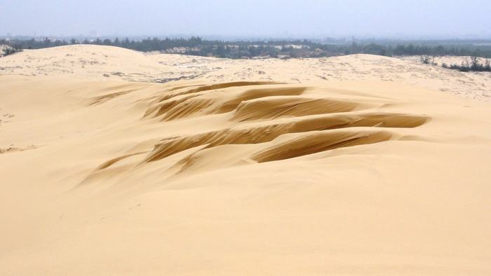 Sand dunes in Dong Hoi
