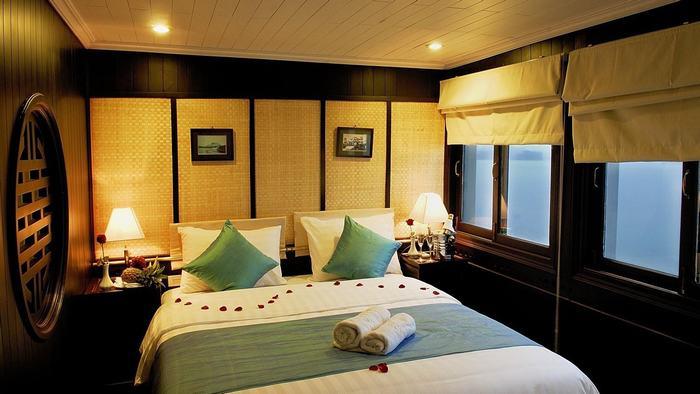 Cabin on the cruise ship