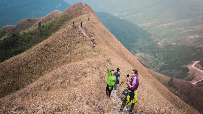 Trekking in Binh Lieu