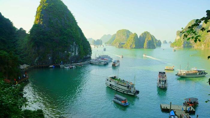 Summer is the best time to visit Halong Bay