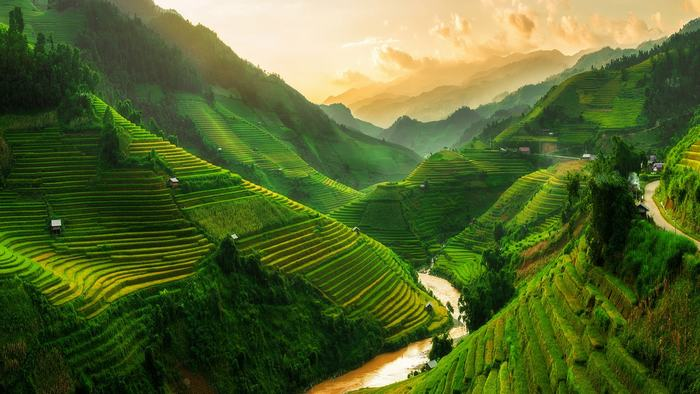 Stunning view of Sapa