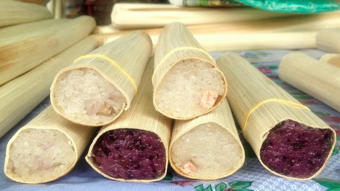 Bamboo sticky rice