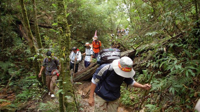 Trekking in Fansipan