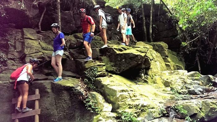 Trekking in Bach Ma National Park