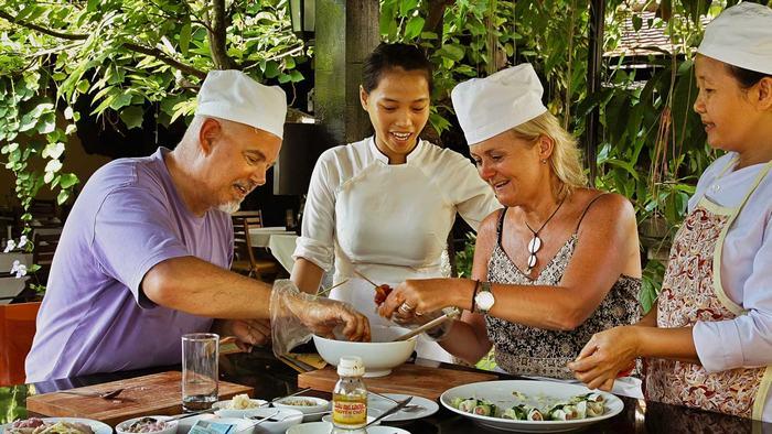 Cooking class at Secret Garden Hoi An