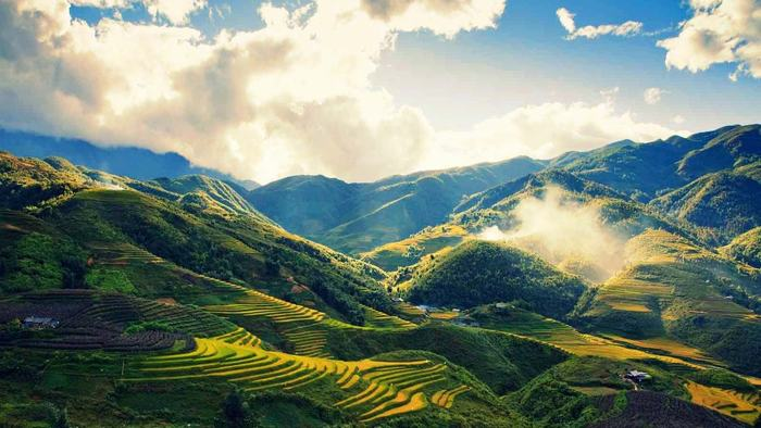 The stunning scenery of Sapa