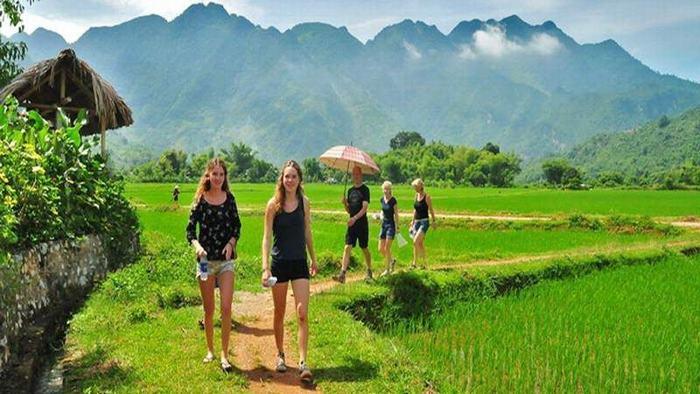 Trekking in Mai Chau