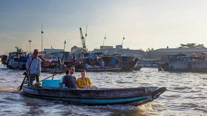 Cài Rang Floating Market