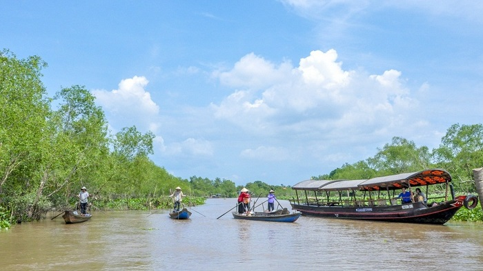 The rustic Mekong Delta