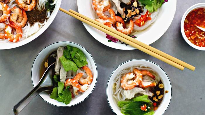 Tamarind broth with rice noodle