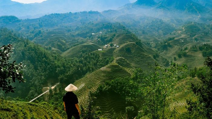 Stunning scenery of Sapa