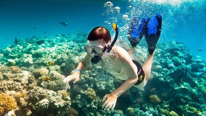 Scuba diving in Binh Ba