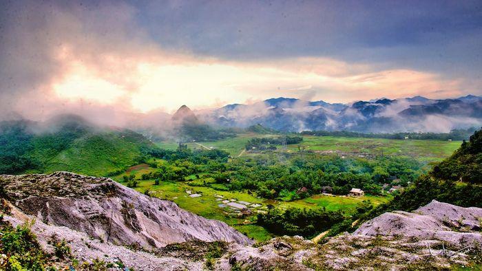The majestic nature in Mai Chau
