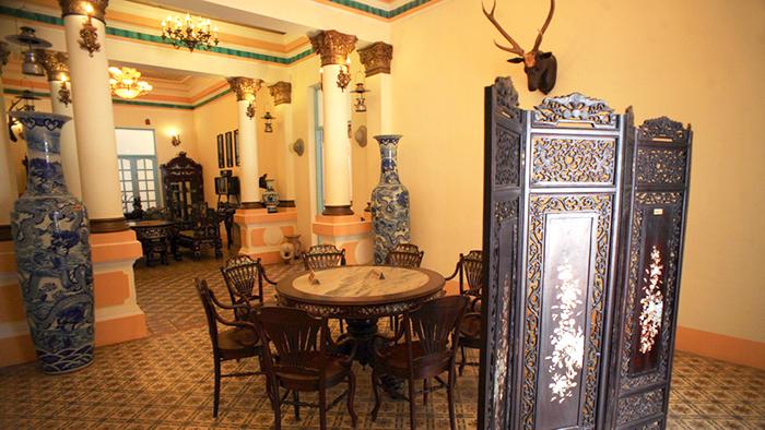 The house of Cong tu Bac Lieu