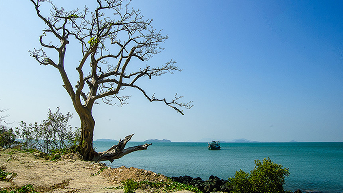 An attractive tourist spot in Kien Giang