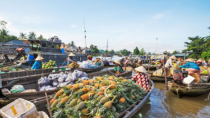 Sa Dec floating market