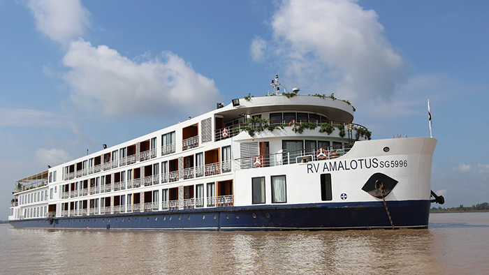 RV Amalotus Cruise Mekong