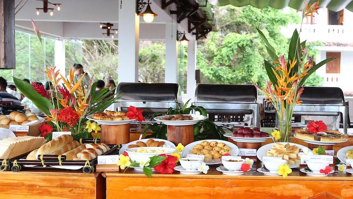 The cuisine of Phu Quoc Long Beach resort
