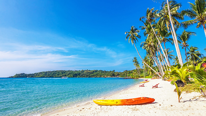 Beautiful beaches in Phu Quoc