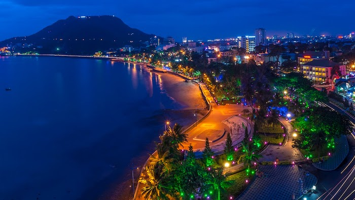 Vung Tau city by night