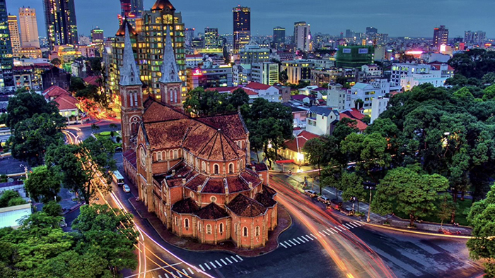 Notre Dame Cathedral - a symbol of Saigon city