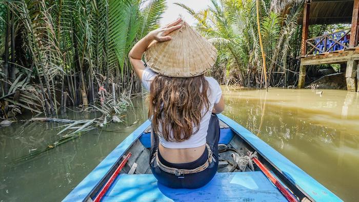 A boat day tour of Saigon - Mekong Delta