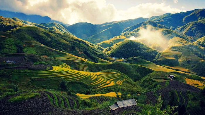 The stunning scenery in Sapa