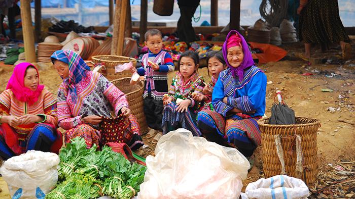 The local life in Lao Cai