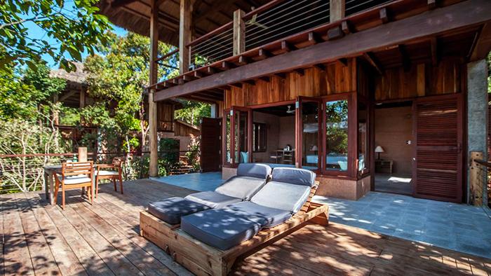 The fresh environment at Mango Bay Resort