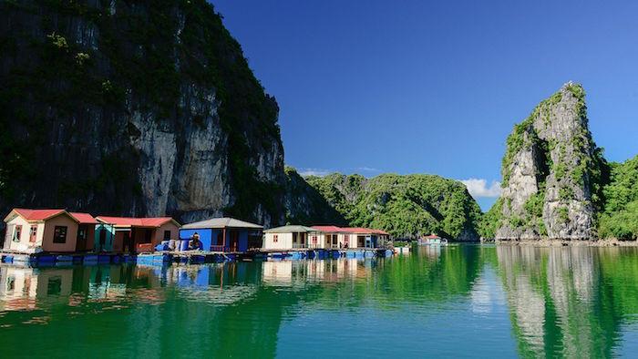 The beauty of Vung Vieng fishing village