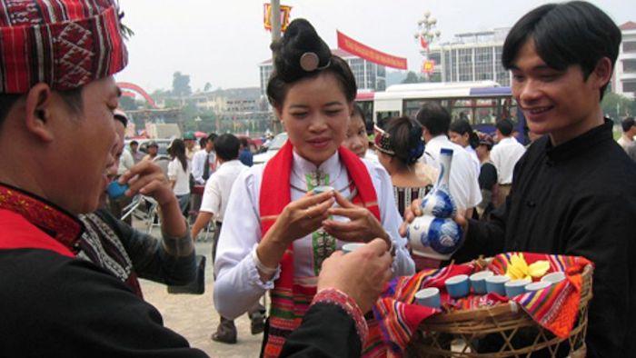 A wedding ceremony of the Dao