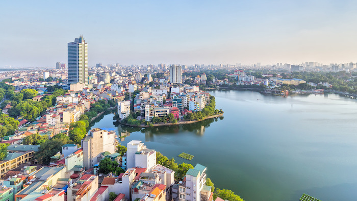 Hanoi is quite far from the Mekong Delta