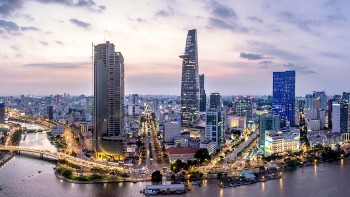 You can travel to Saigon before reaching the Mekong River