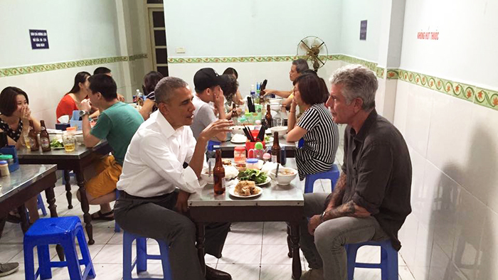 Obama used to have a chance to try it in Hanoi