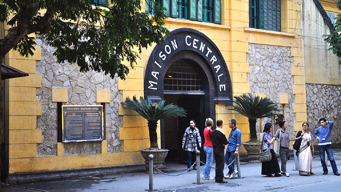 Hoa Lo prison (via flickr.com)