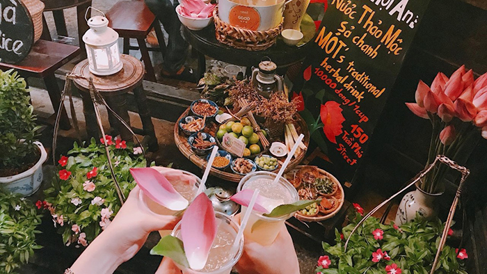 Mot herbal tea - an attraction in Hoi An (hoianvn.com)