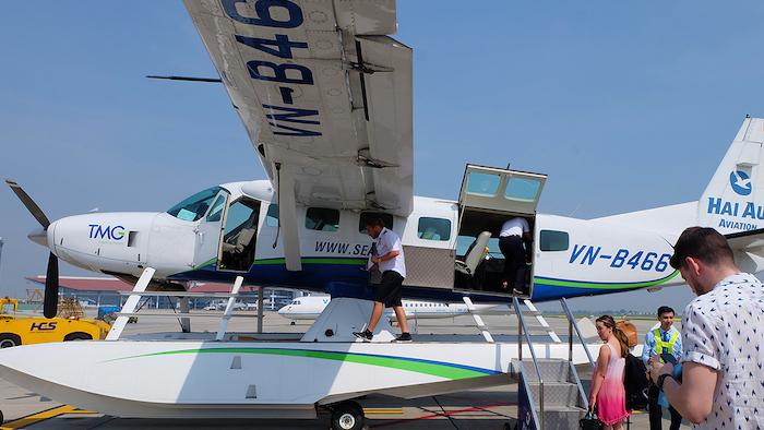 Halong seaplane of Hai Au company