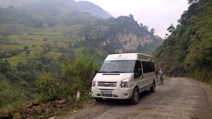 You can go to Mai Chau by a passenger bus