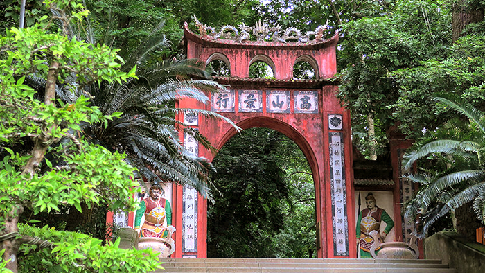 Hung Temple on Nghia Linh Mountain