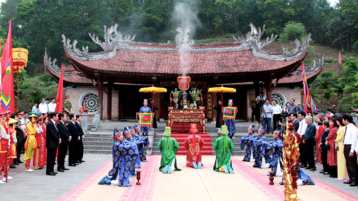 Each year, there are more than 3 million people attending the Hung King Temple Festival